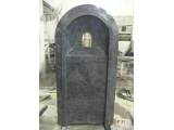 Special Formed Christian Headstone in