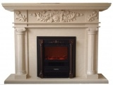 Turkey Super Beige Marble Fireplace