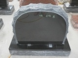 Shanxy Black Granite Upright Memorial